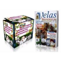 Curso De Sabonetes E Velas Artesanais Decorativas + Brindes