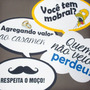 Kit C/ 100 Placas Divertidas Casamento Aniversario Formatura