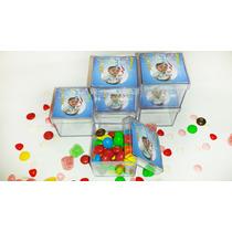 10 Caixinhas Acrílica 4x4x4 Cm Personalizadas