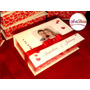 Caixa Convite Box, Com Foto - Padrinhos De Casamento