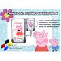 50 Canecas Acrílico Personalizada Peppa Pig 300ml