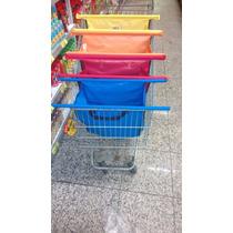 2 Kits C 4 Sacolas Práticas Supermercado, Presente De Natal