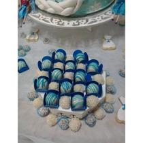Kit Mini Trufas Chocolate Lembrancinha Aniversário Casamento