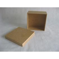 Kit 20 Caixas Mdf 15x15x7 - Tampa De Sapato