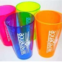 20 Copos Caldereta 500ml Acrilico Mega Drink Personalizados