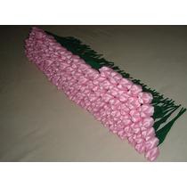 100 Lindas Tulipa Em Tecido Para Casamento Frete Grátis