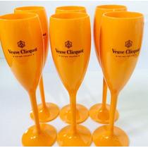 Taças De Champagne Veuve Clicquot Caixa C/ 6 Unidades