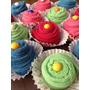 Kit De 4 Cupcakes Em Toalha - Lembrança Chá De Cozinha