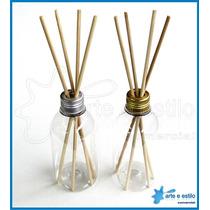 10 Difusores Aromatizador 200 Ml C/ Varetas E Tampa Aluminio