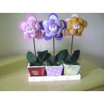 3 Lembrancinha Vasinho De Flor Para Centro De Mesa