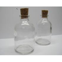 10 Frascos De Vidro C/ Rolha 35 Ml Penicilina Lembrancinha