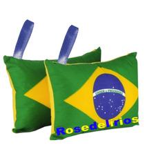 50 Almofadas-chaveiro Personalizadas 10x10 Pra Sua Festa