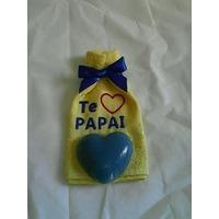 Toalha De Lavabo Bordadas+sabonete-dia-presente-lembrancinha