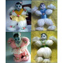 Lembrancinhas-boneca Em Lã-aniversário-nascimennto-chá Bebe