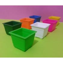 Vasinho Plástico Para Lembrancinha - Kit C 12 /várias Cores
