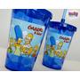 10 Copos Acrílicos Os Simpsons Com Tampa E Canudo Milkshake