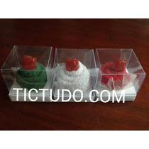 Lembrancinha Cupcake Toalhinha Toalha C/caixa