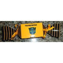 Caixa Bala/bombom Personalizada Transformers