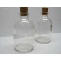 10 Frascos De Vidro C/ Rolha 50 Ml Penicilina Lembrancinha