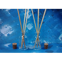 10 Kits Aromatizador Frasco 50 Ml Vidro Penicilina Difusor
