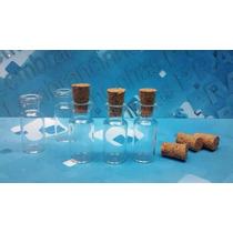 25 Frascos Vidro Penicilina C/ Rolha 3 Ml Pingente Colar