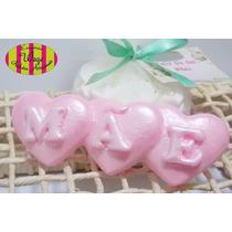 Lembrancinha Sabonete Coração Mãe - Dia Das Mães - Brindes