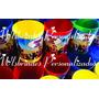 Baldes De Pipoca Personalizados Com Tema E Foto Kit Com 10