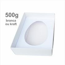 100 Caixas P/ Ovo De Colher 500g - Páscoa - Frete Grátis