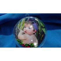 Bola De Natal Acrílica Personalizada