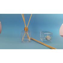 Frasco Vidro-cubo Para Aromatizador 50ml Kit C/10 Peças