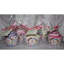 Lembrancinhas Cupcake Toalha - Wrapper Personalizado Com 10