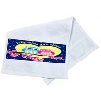 Toalha De Mão Personalizada Dia Das Mães Corujas