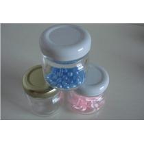 100 Potes De Vidro Para Lembrancinhas Liso 40ml
