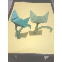 Origami Gatinhos 100 Unidades