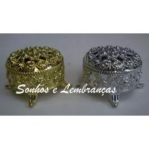 12 Mini Porta-jóias Para Lembrancinha - R$ 1,99 Cada