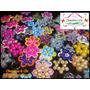 100 Flores De Miçanga (chaveiros.imã Ou Para Aplicação)