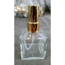 Frasco Vidro-cubo 30ml Para Aromatizador Valvula Spray Luxo