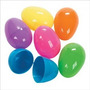 Ovos De Pascoa De Plastico (easter Eggs)