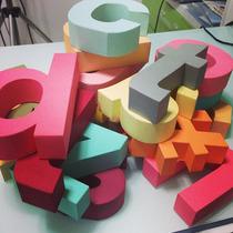 Alfabeto Minúsculo 3d Silhouette Moldes De Corte + Brindes