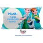 30 Travesseiros Personalizados 20x40 Lembrancinha Frozen