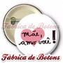 20 Botons Broches Botton Feliz Dia Das Mães Amo Você 4,5cm