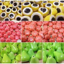 100 Sabonetes Artesanais Mini Frutas - Oferta