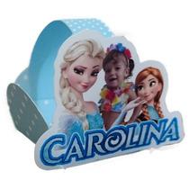 50 Forminhas Personalizadas Frozen Lembrancinhas. +bonitas