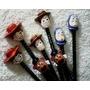 10 Lembrancinhas* Ponteira De Lápis* Toy Story* Em Biscuit