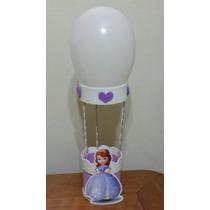 7 Centro De Mesa Eva Personalizada Princesa Sofia Disney