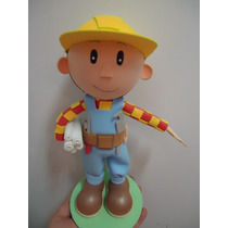 Boneco Festa Infantil Enfeite Mesa Bob Construtor
