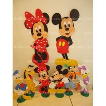 Kit Decoração/festa/enfeites Mickey/minnie