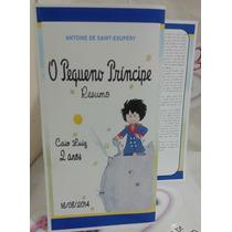Resumo Livro Pequeno Príncipe - 20 Unidades