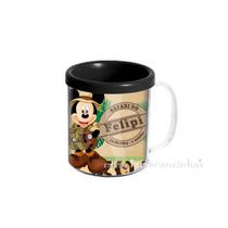 20 Canecas Tema Mickey Safari Personalizadas Lembrancinhas