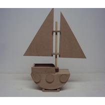 Barco Mdf Enfeite Mesa Lembrancinha Aniversario Marinheiro